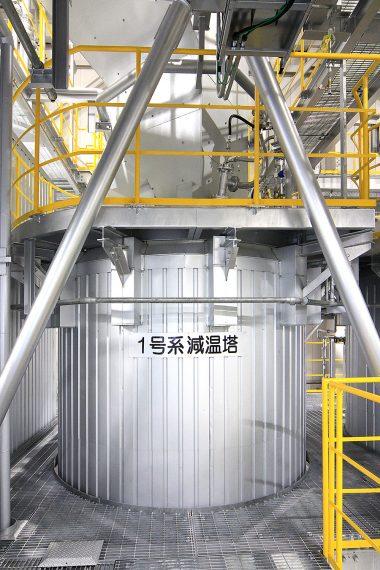塔槽型機器据付工事